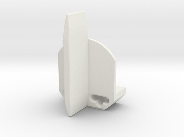 Guide slot car - slot it based in White Natural Versatile Plastic