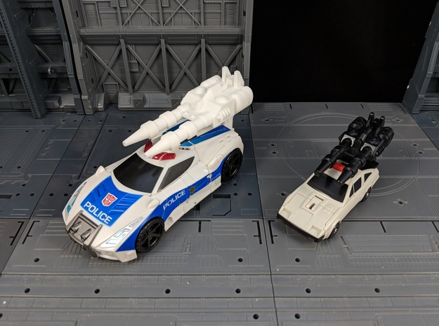 TF CW Streetwise XL Car Cannon in White Natural Versatile Plastic