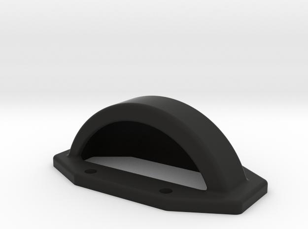 Yokomo YZ4-SF Spur Gear Cover in Black Natural Versatile Plastic
