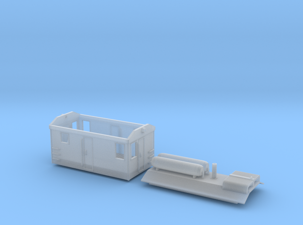 GE_Boxcabv6b in Smooth Fine Detail Plastic