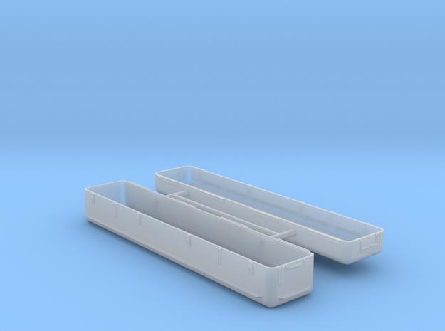 Stinger missile transport case #1 in Smooth Fine Detail Plastic