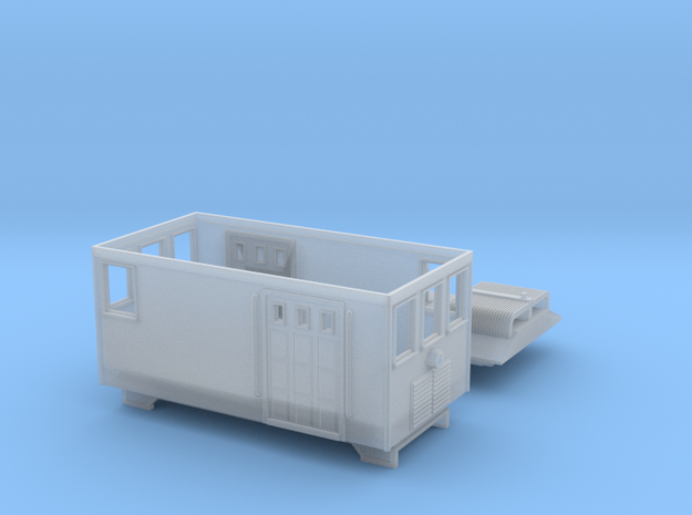 GE_Boxcab_v71 in Smooth Fine Detail Plastic