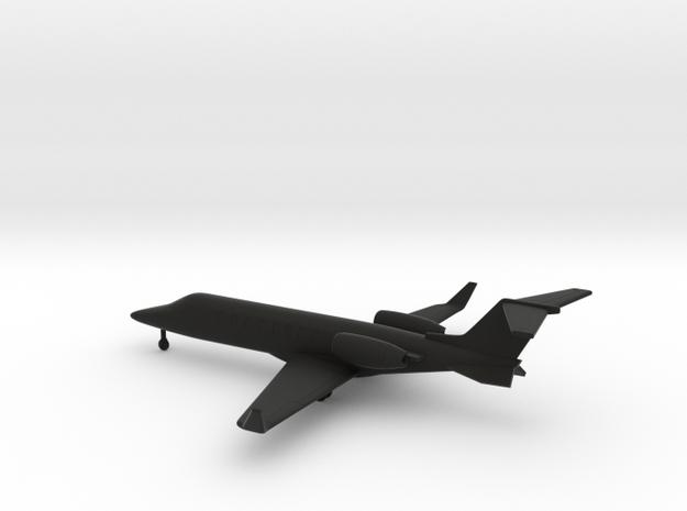 Bombardier Learjet 75 in Black Natural Versatile Plastic: 1:200