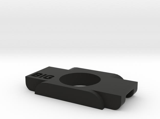 Anticondensa Billet Box Rev4  wide bore in Black Natural Versatile Plastic