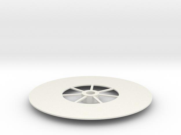 quadrunner deck in White Natural Versatile Plastic