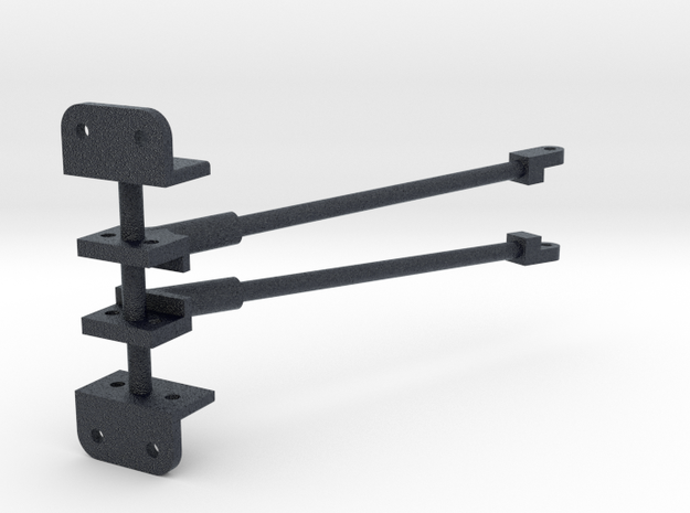119 brace-yoke assembly & cab bracket in Black Professional Plastic