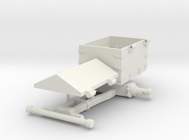 LICORNE 3 X1 in White Natural Versatile Plastic