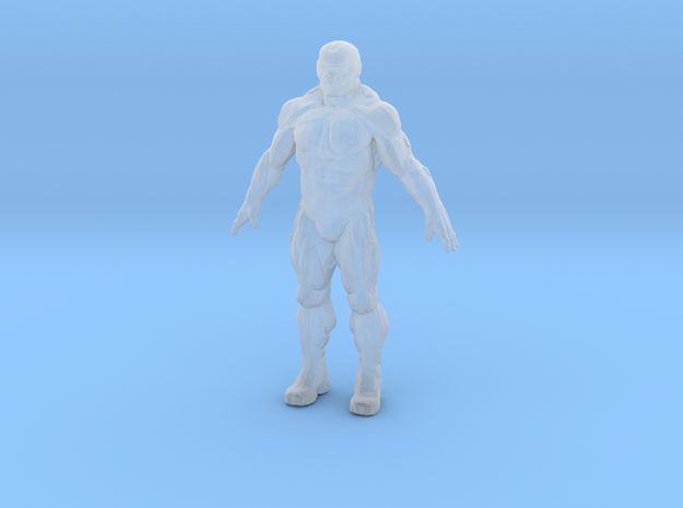 """Nanosuit Crysis 1"""" in Smooth Fine Detail Plastic"""