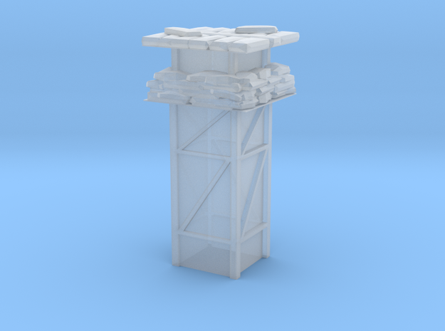 Generic watchtower in Smooth Fine Detail Plastic