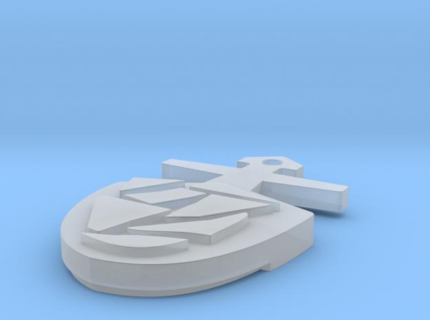 Tardis Key in Smoothest Fine Detail Plastic