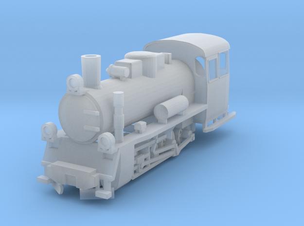 Px48 Polish Narrow Gauge Locomotive Ze scale 1:220 in Smoothest Fine Detail Plastic