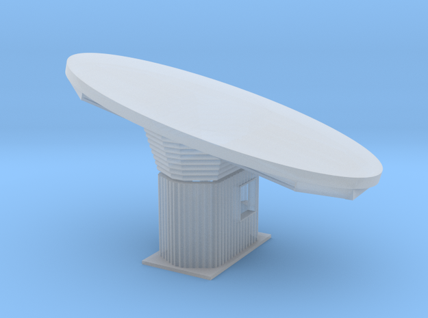 'N Scale' - Crooked Ticket Booth - pieces in Smooth Fine Detail Plastic