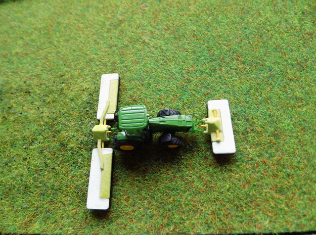 1:160/N-Scale Triple Mower in White Natural Versatile Plastic