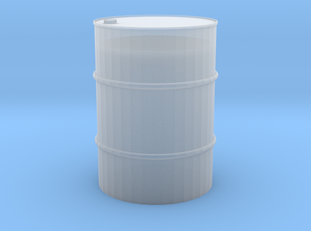 1/24 55 gal barrel in Smooth Fine Detail Plastic
