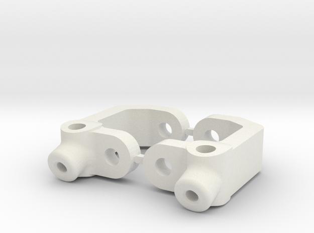 17.5 DEGREE CASTOR - B3 in White Natural Versatile Plastic