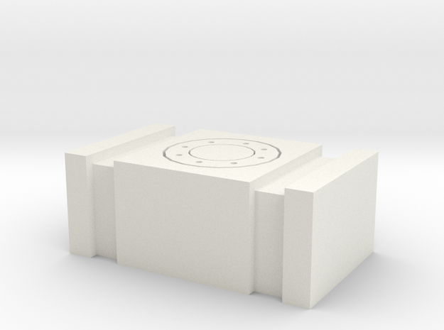 1/64 Scale Fuel Cell in White Natural Versatile Plastic