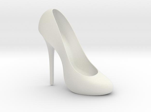 Right Classic Pumps Shoe in White Natural Versatile Plastic
