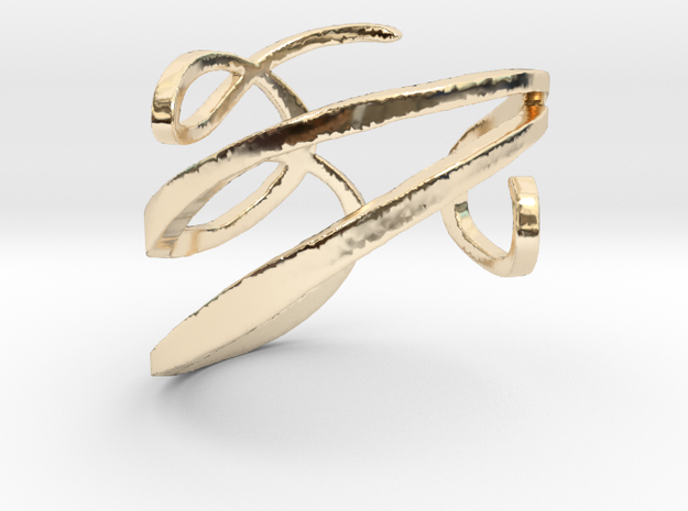 Filigree  Ring  in 14K Yellow Gold: 4 / 46.5