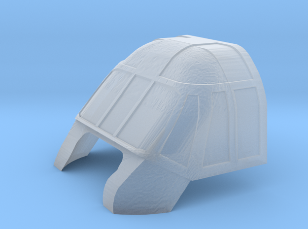 HH3-144scale-10-Canopy(clear) in Smoothest Fine Detail Plastic