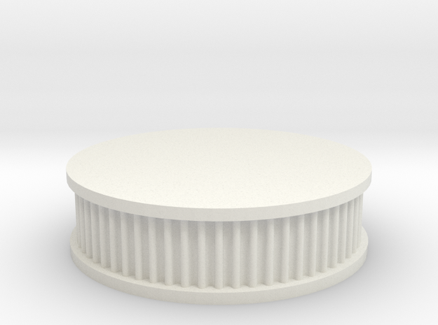 air filter round 1/10 in White Natural Versatile Plastic