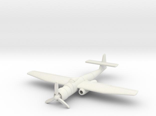 (1:144) Blohm und Voss BV P.204 in White Natural Versatile Plastic