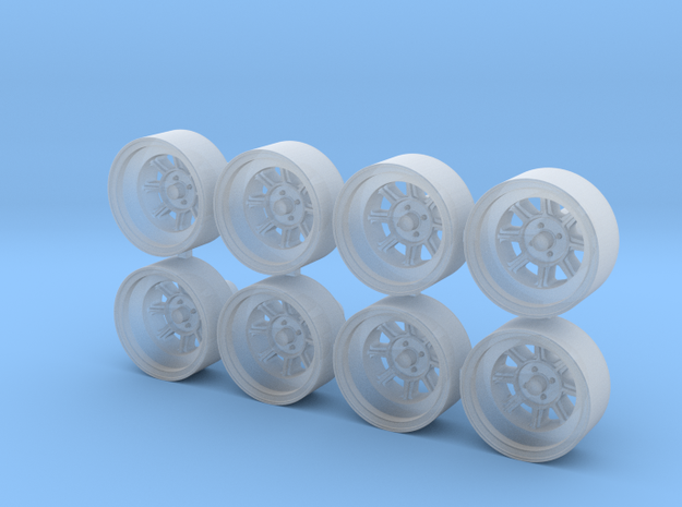 Hayashi Street CR 11x5mm 1/43 Scale Wheels in Smoothest Fine Detail Plastic