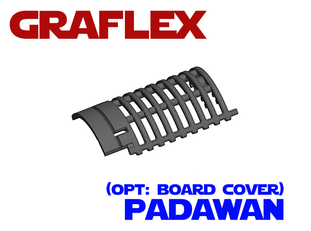 Graflex Padawan - Optional Cover in White Natural Versatile Plastic
