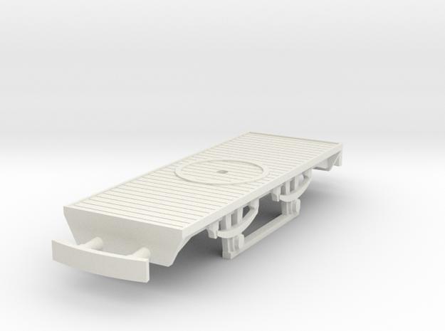 f-87-tam-flat-wagon-1 in White Natural Versatile Plastic