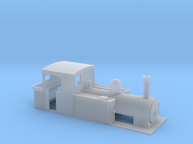 OO freelance 2-4-2T or 0-6-2T in Smooth Fine Detail Plastic