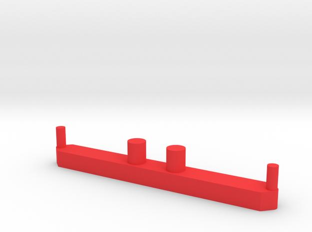 Stuuras zon model nooteboom in Red Processed Versatile Plastic