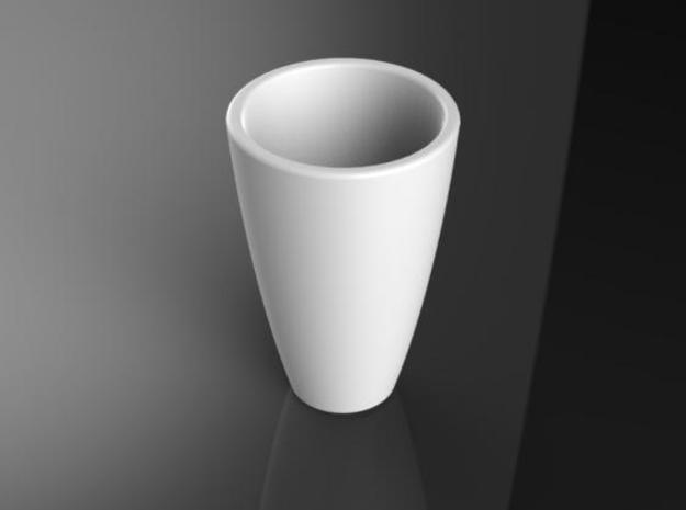 Central pot for Arcus support 3d printed