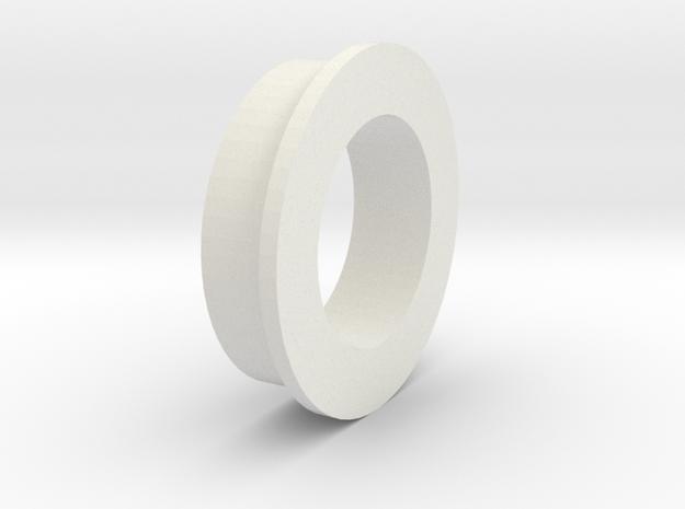 King Of Crushers Swaybar Bushing in White Natural Versatile Plastic: 1:10