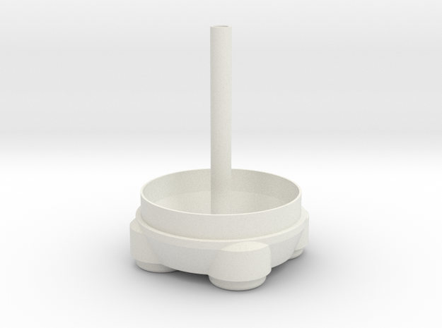 Orion SLS Core Stage Base V2 in White Natural Versatile Plastic