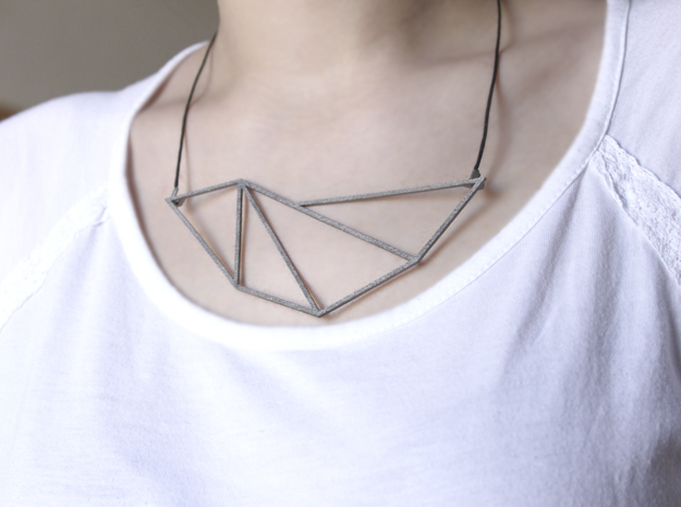Convex Necklace - Crystalline Series
