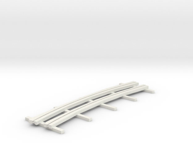r-165bas-curve-2r-bridge-ng-track-long-plus2-1a in White Natural Versatile Plastic