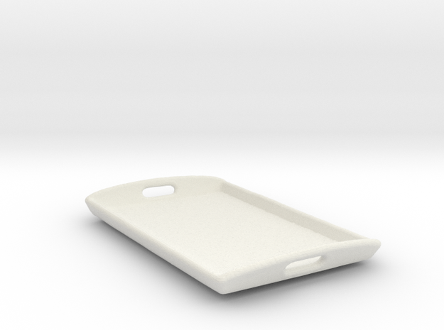 Serving Tray in White Natural Versatile Plastic