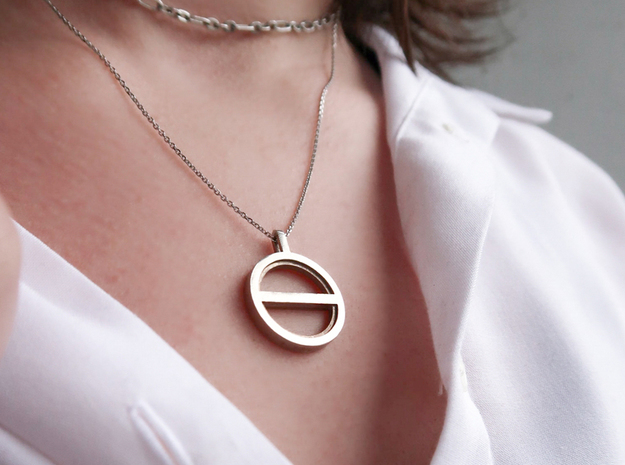 Balance  in Natural Silver: Small