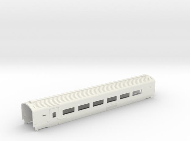 Caisse Eurostar Intermédiaire HO in White Natural Versatile Plastic