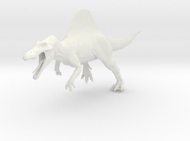 Spinosaurus Aegyptiacus (JP Style) Version 2 in White Natural Versatile Plastic