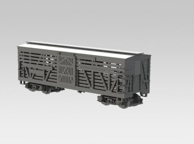 Nn3 Stock Car, DRGW 4-pack 2 in Frosted Ultra Detail