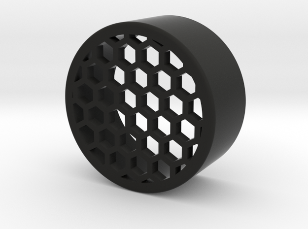 38mm honeycomb one piece in Black Natural Versatile Plastic