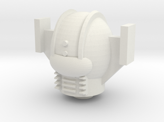 Armbos Head For Phobos in White Natural Versatile Plastic
