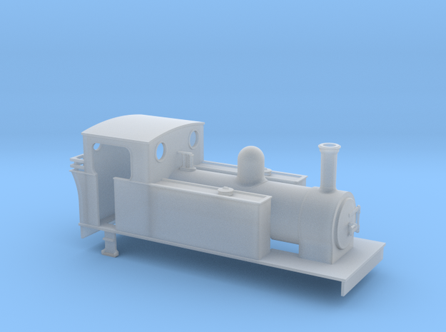 OO Kerr Stuart style 0-6-0T in Smooth Fine Detail Plastic