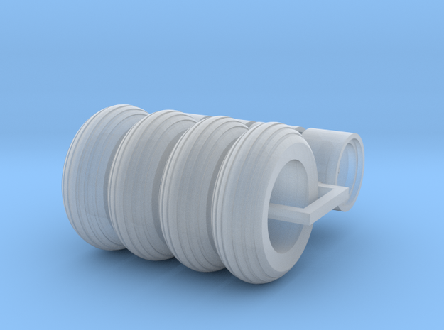 1/64 Scale 9.5L-14 Implement Tires Qty:4