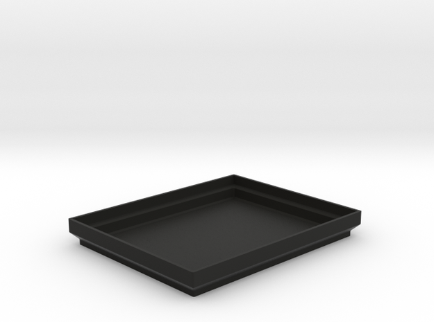 Base for Hudy tyre/tire truer in Black Natural Versatile Plastic