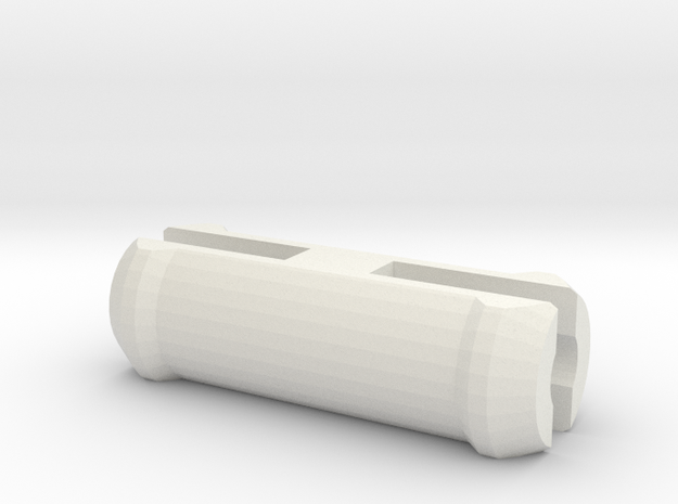 Arm peg of the robot in White Natural Versatile Plastic