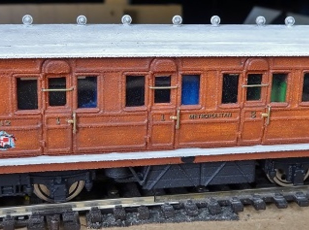 Metropolitan Railway (Composite body) 412, OO in Smooth Fine Detail Plastic