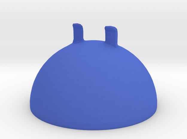 Head of the robot in Blue Processed Versatile Plastic
