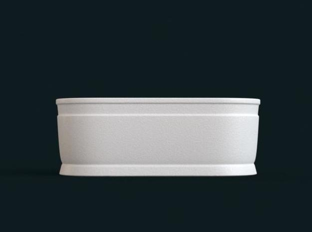 1:39 Scale Model - Bath Tub 03 3d printed