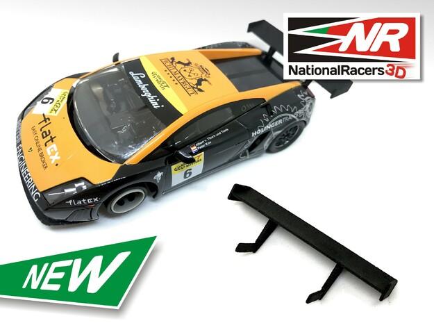 2x 3D Rear Wing - NINCO Lamborghini Gallardo